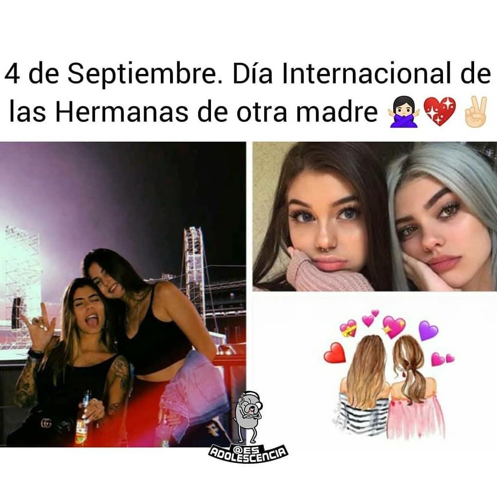 4 de Septiembre. Día Internacional de las hermanas de otra madre.