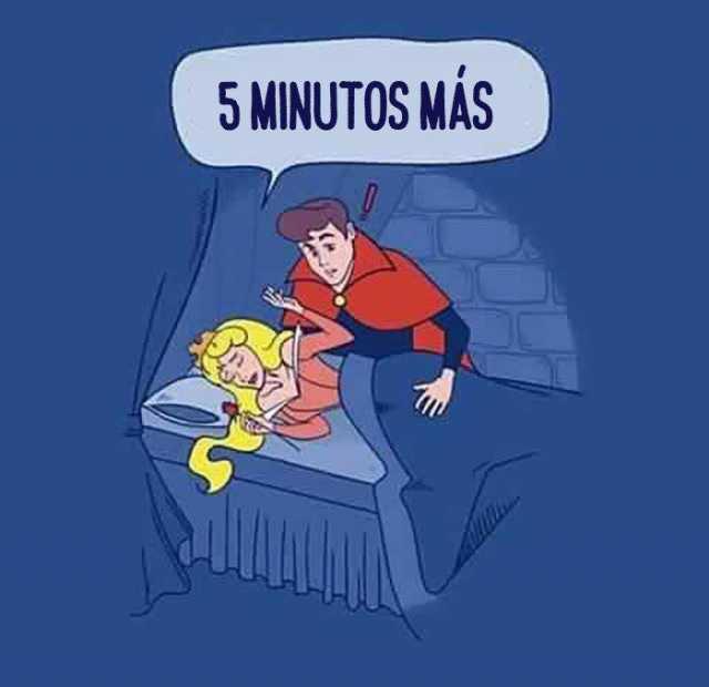 5 Minutos más.