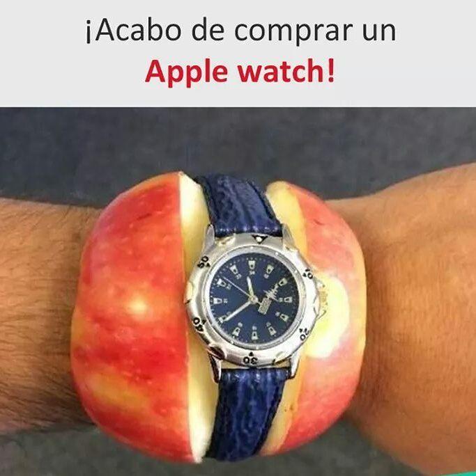 ¡Acabo de comprar un Apple watch!