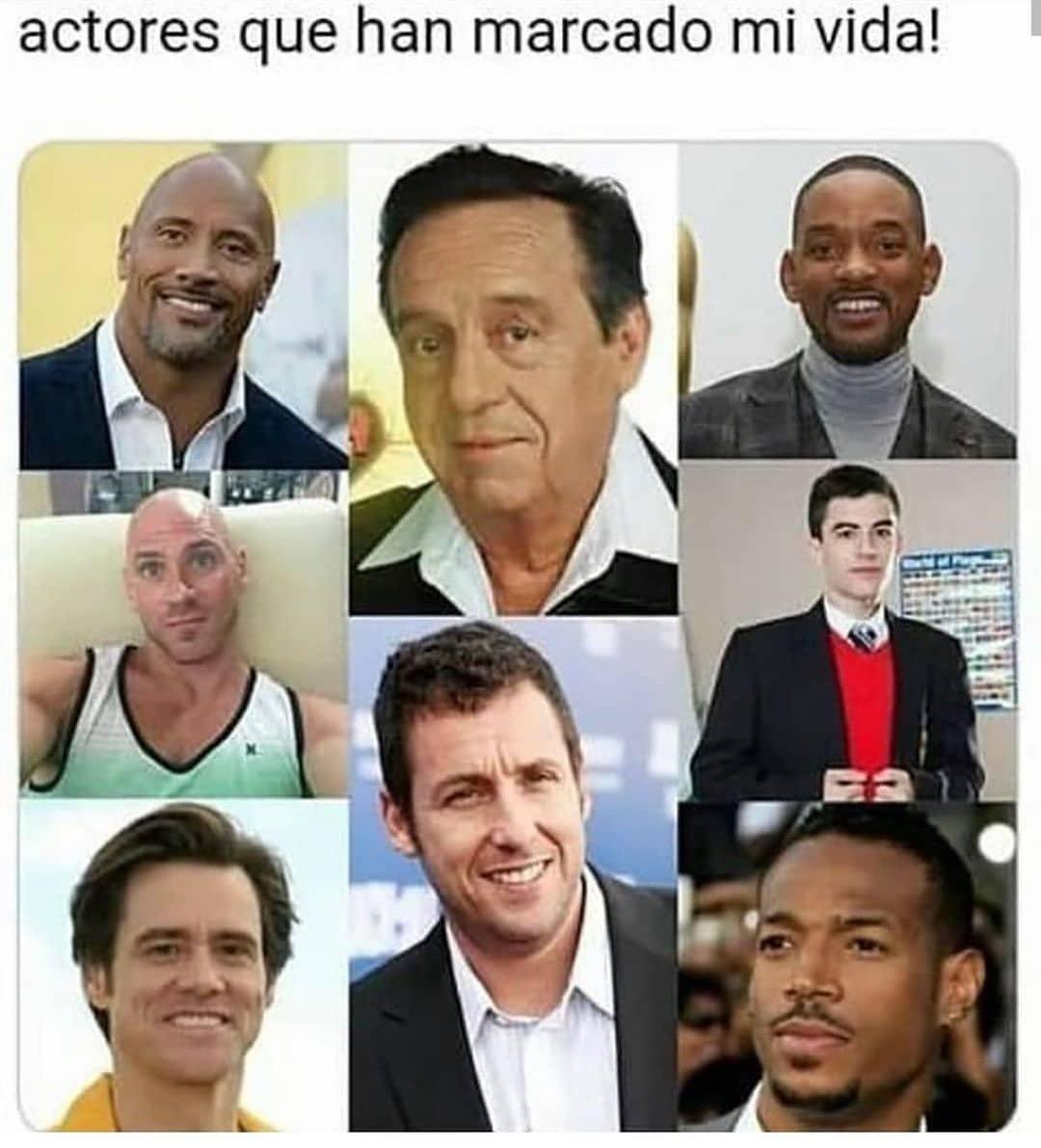 Actores que han marcado mi vida!