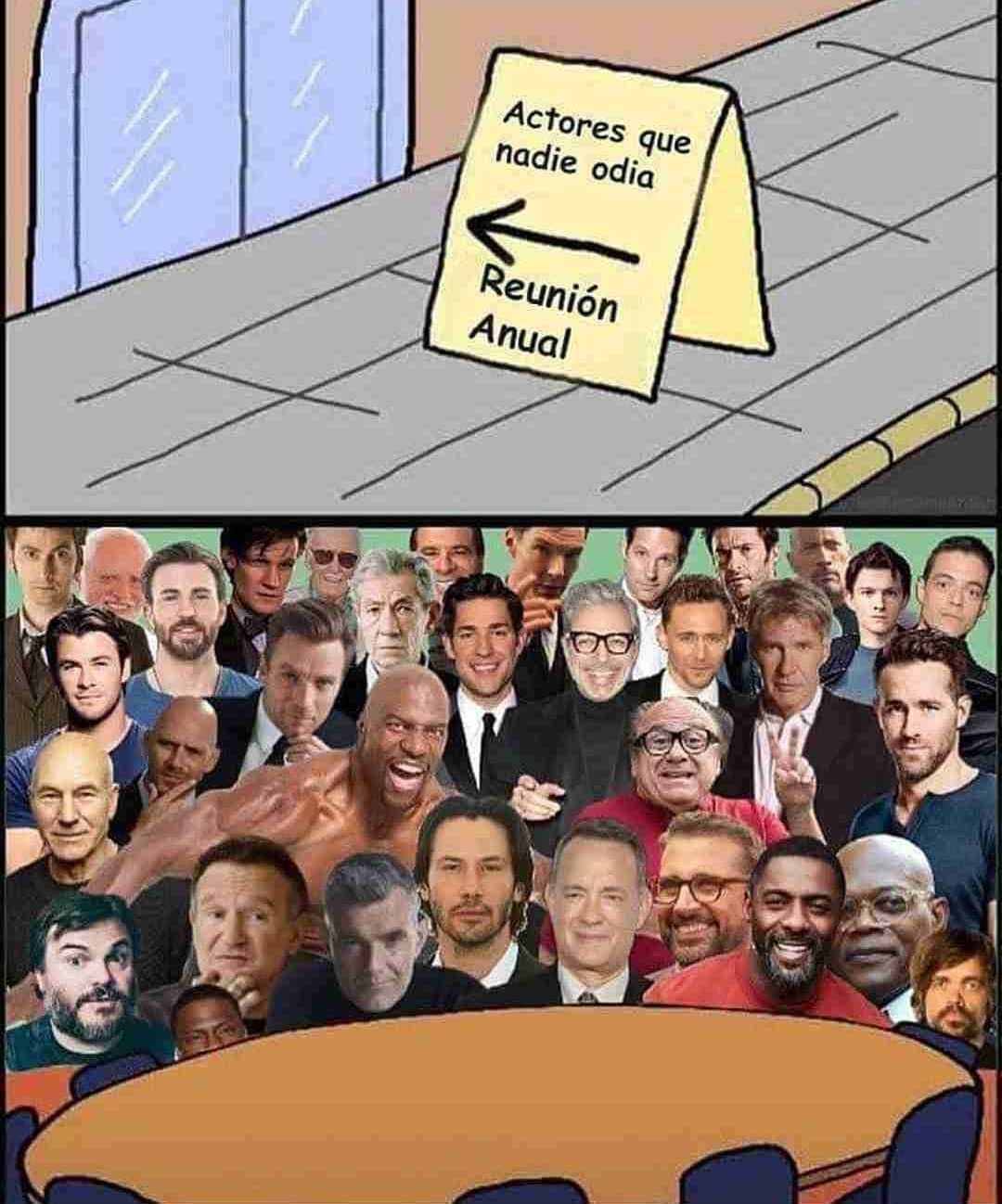 Actores que nadie odia. Reunión Anual.