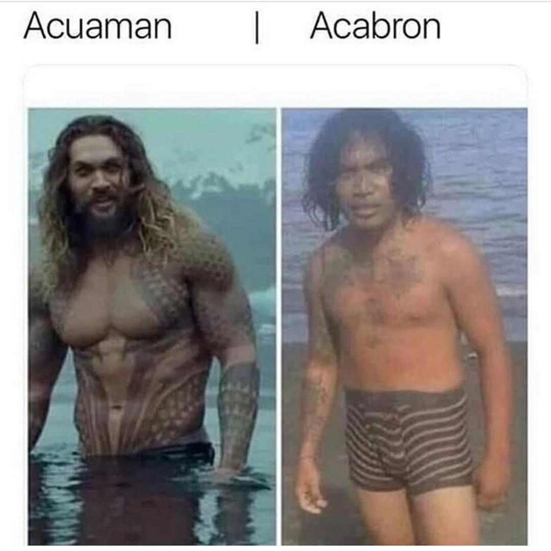 Acuaman. / Acabron.