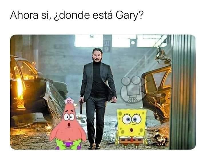 Ahora sí, ¿donde está Gary?