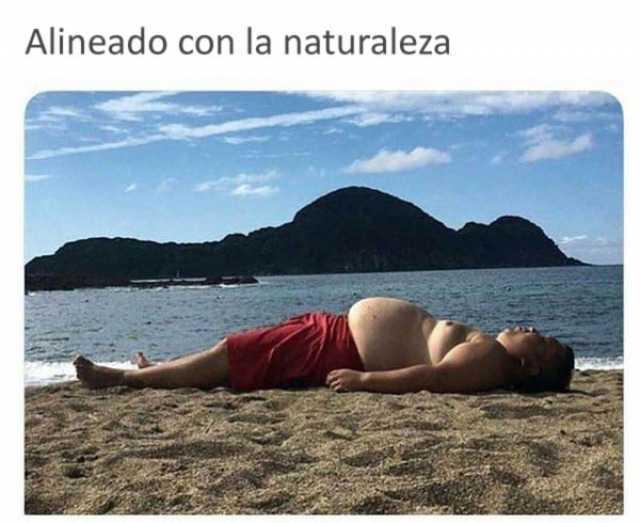Alineado con la naturaleza.