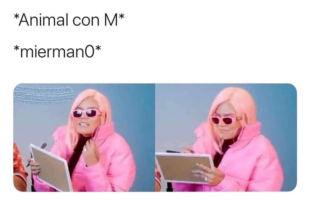 *Animal con M*  *Miermano*