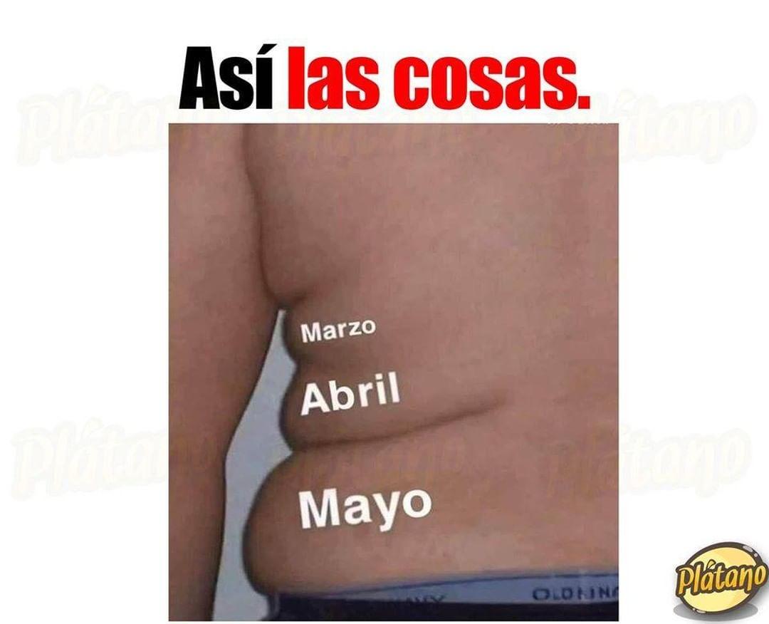 Así las cosas: Marzo, Abril, Mayo.