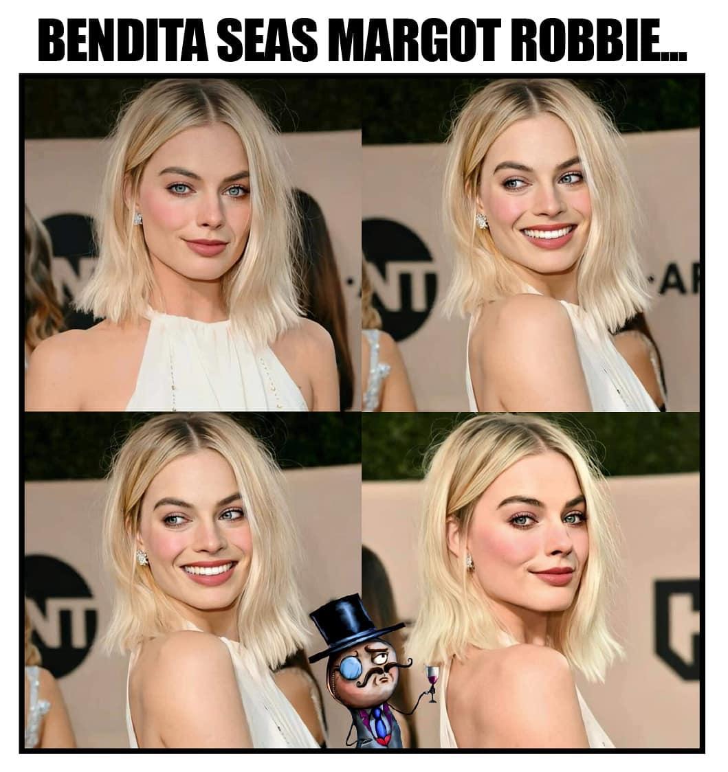 Bendita seas Margot Robbie...