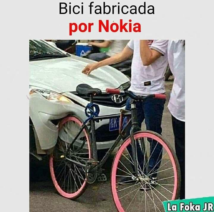 Bici fabricada por Nokia.