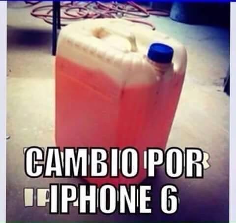 Cambio por Iphone 6.