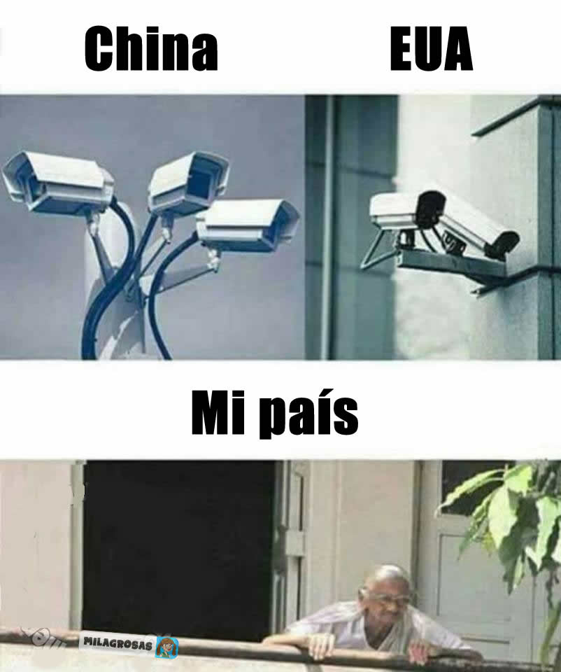 China. EUA. Mi país.