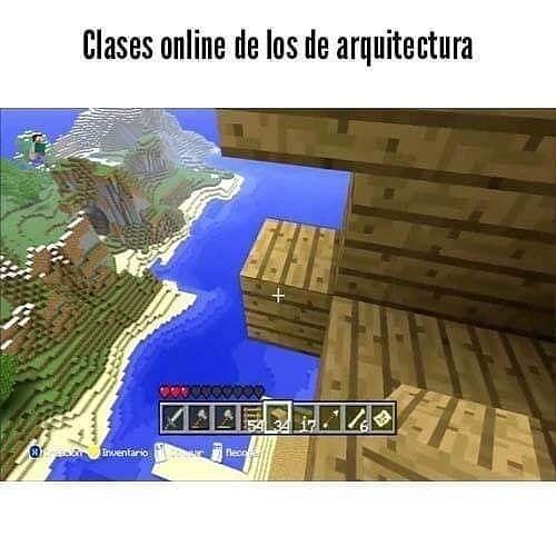 Clases online de los de arquitectura.