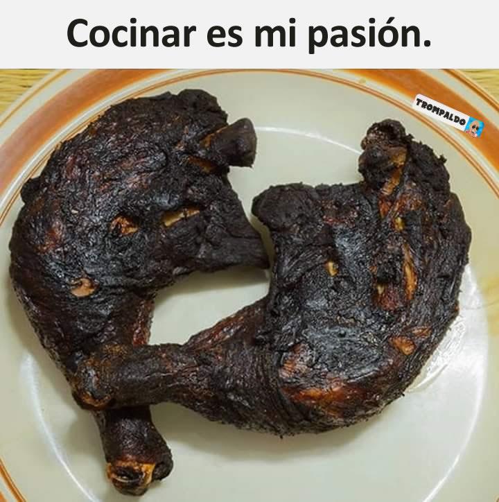 Cocinar es mi pasión.