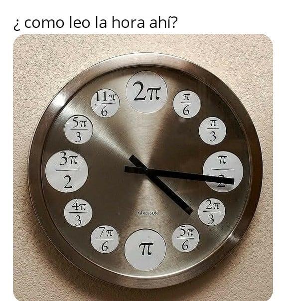 ¿Como leo la hora ahí?