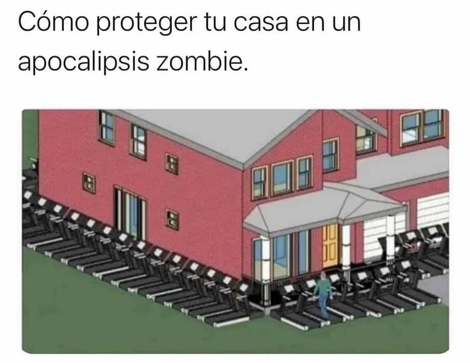 Como proteger tu casa en un Apocalipsis zombie.