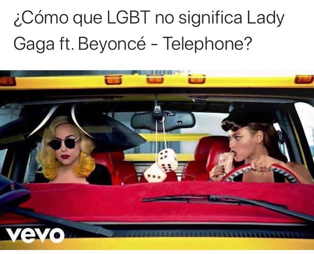 ¿Cómo que LGBT no significa Lady Gaga ft. Beyoncé - Telephone?