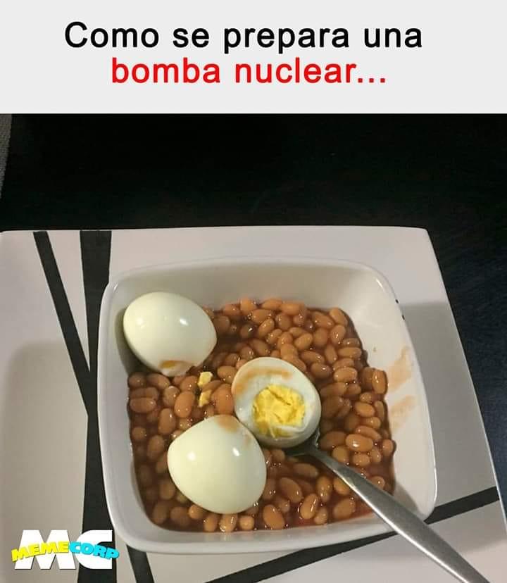 Como se prepara una bomba nuclear...