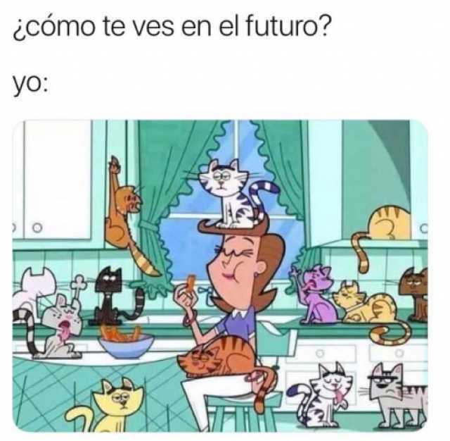 ¿Cómo te ves en el futuro?  Yo: