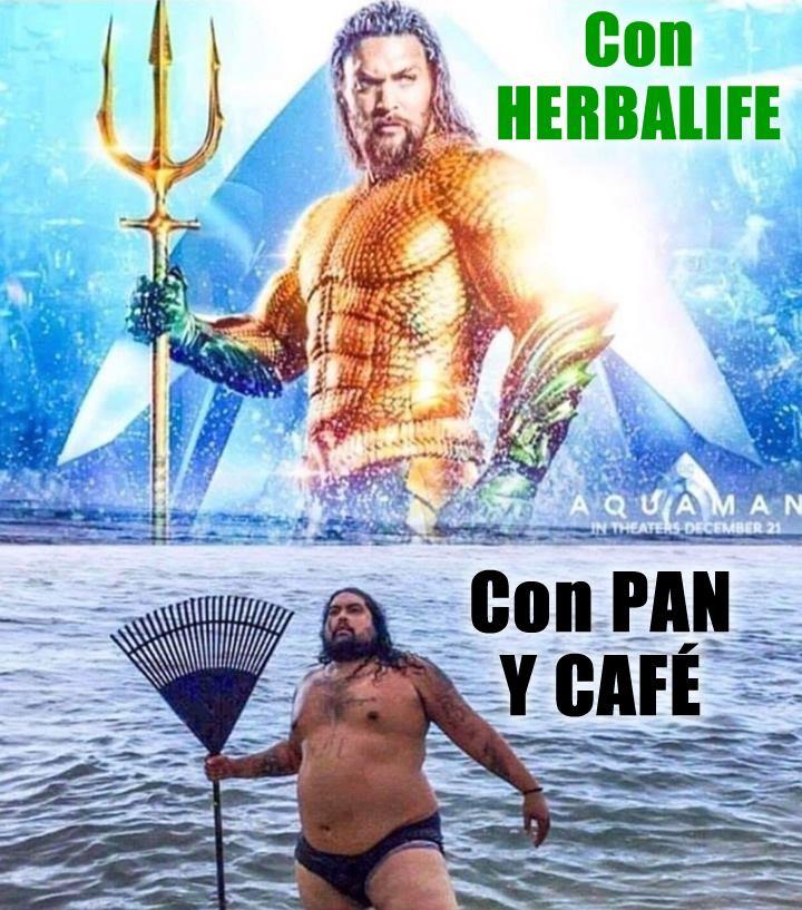 Con Herbalife // Con Pan y Café