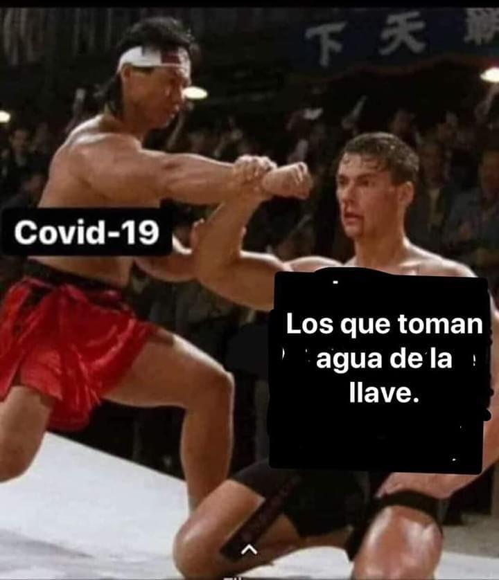 Covid-19. / Los que toman agua de la llave.