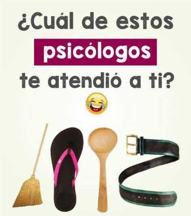 ¿Cuál de estos psicólogos te atendió a ti?