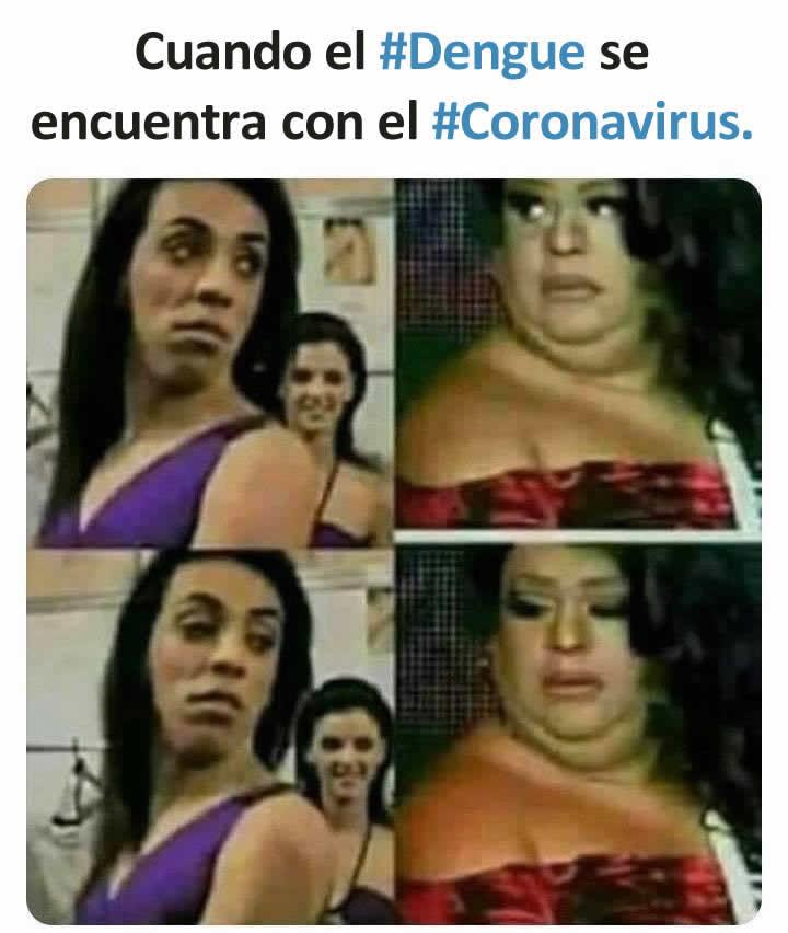 Cuando el #Dengue se encuentra con el #Coronavirus.