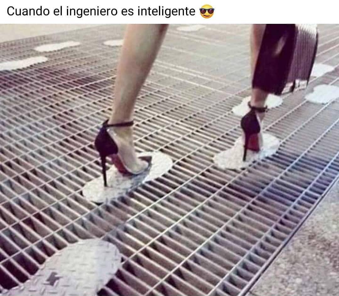 Cuando el ingeniero es inteligente.