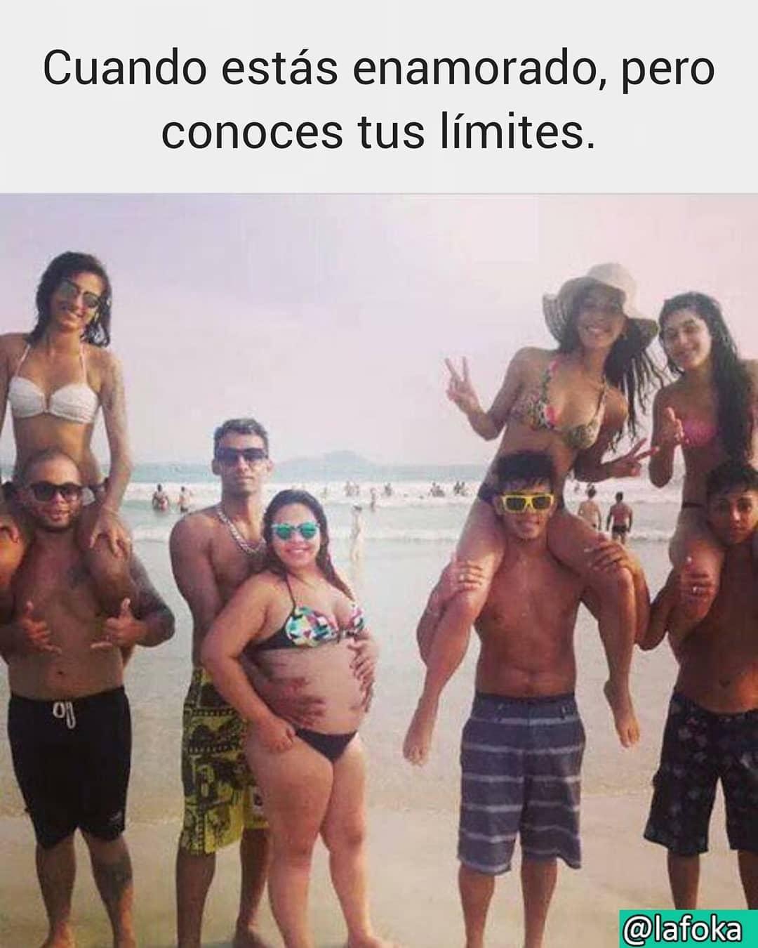 Cuando estás enamorado, pero conoces tus límites.