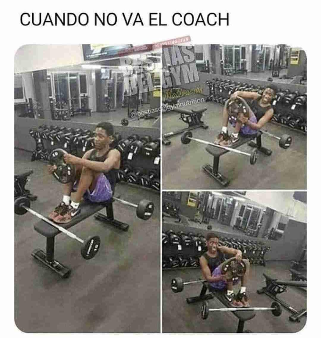 Cuando no va el coach.