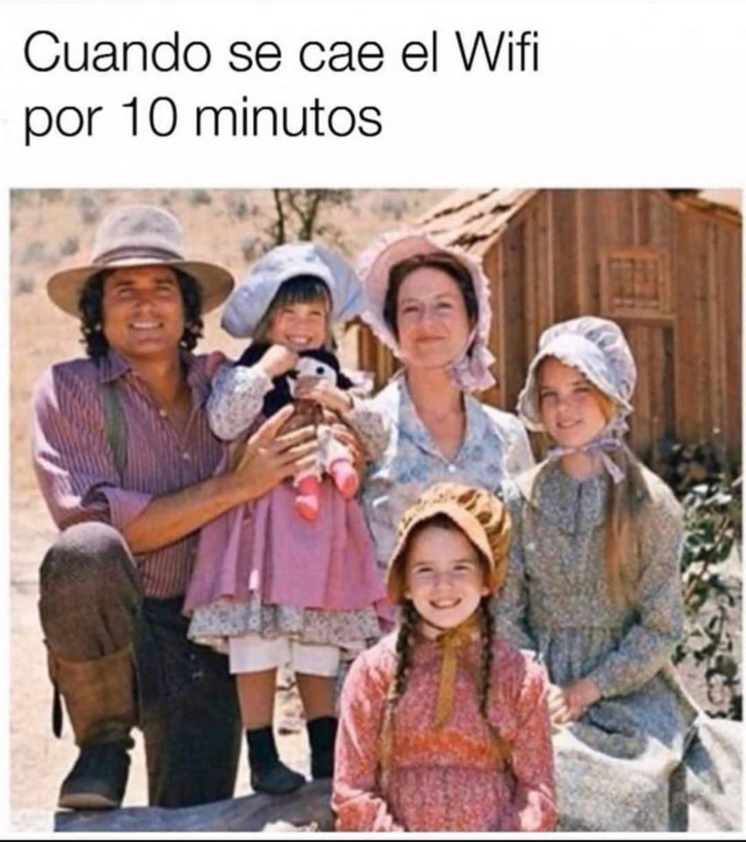 Cuando se cae el Wifi por 10 minutos.