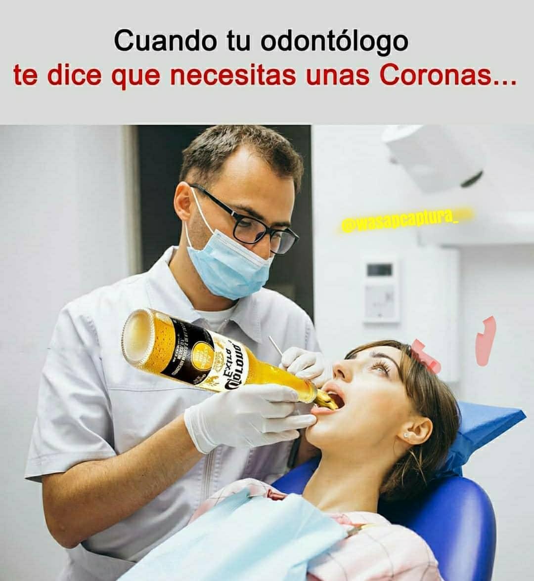 Cuando tu odontólogo te dice que necesitas unas Coronas...
