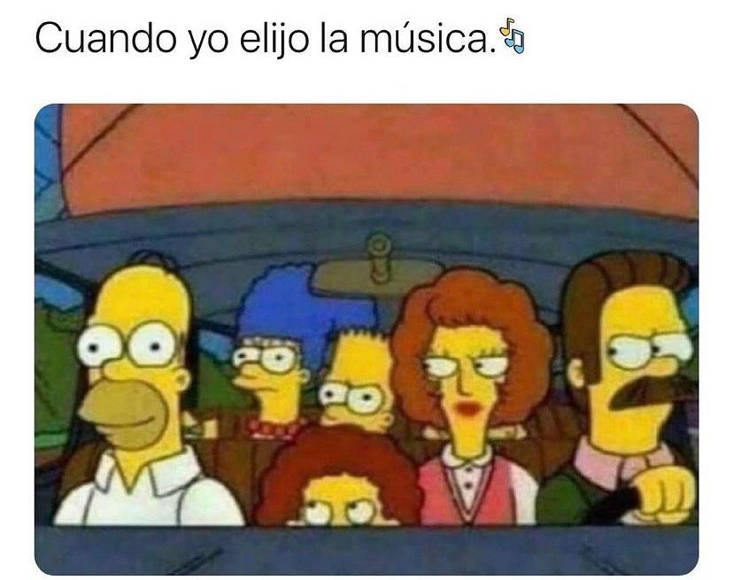 Cuando yo elijo la música.