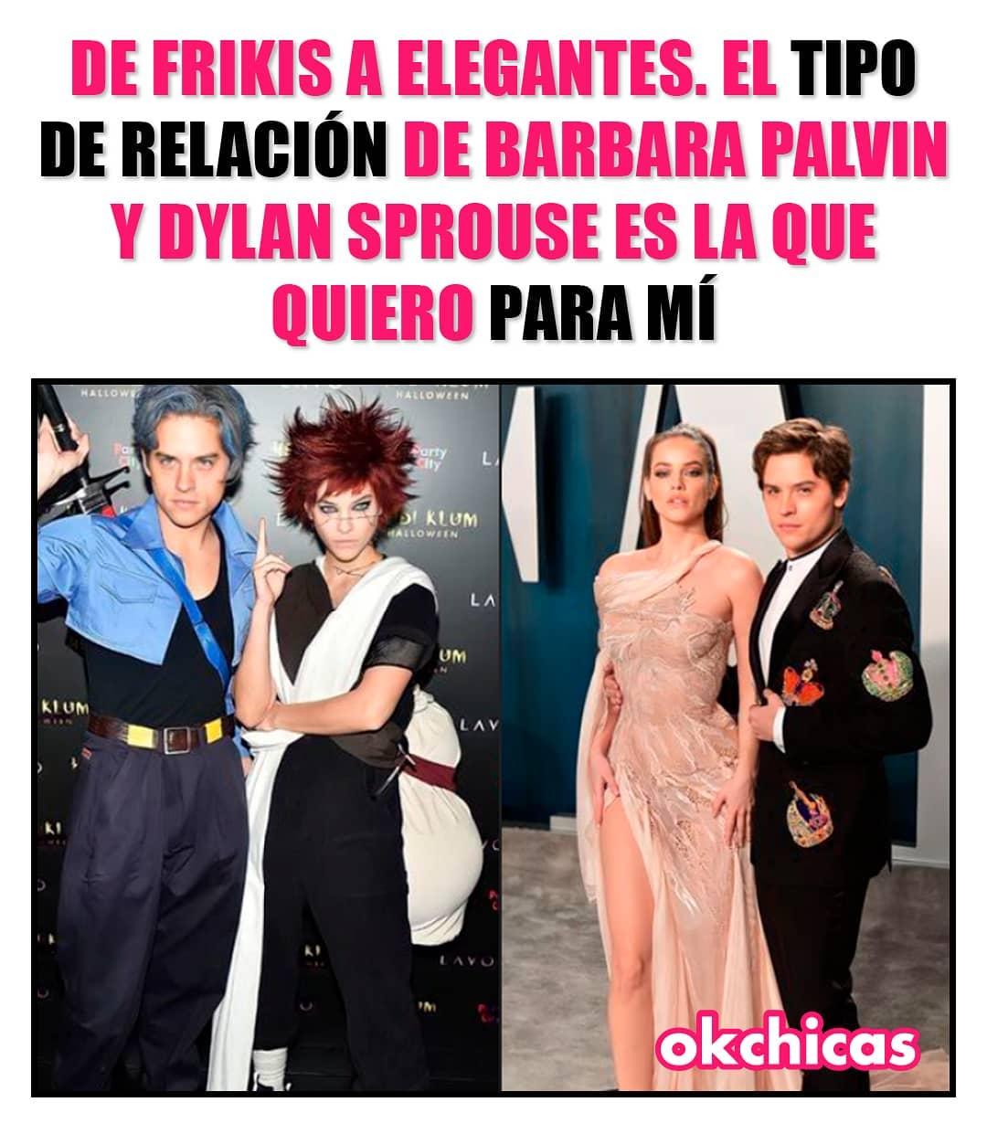 De Frikis a elegantes. El tipo de relación de Barbara Palvin y Dylan Sprouse es la que quiero para mí.