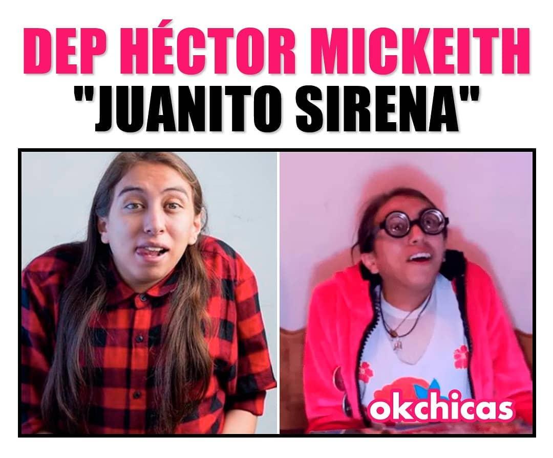 "DEP Héctor Mickeith. ""Juanito Sirena""."