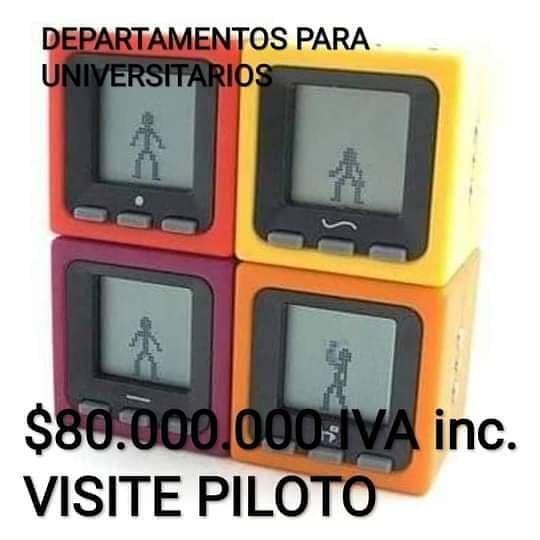 Departamentos para universitarios.  $80.000.000 IVA inc. Visite piloto.