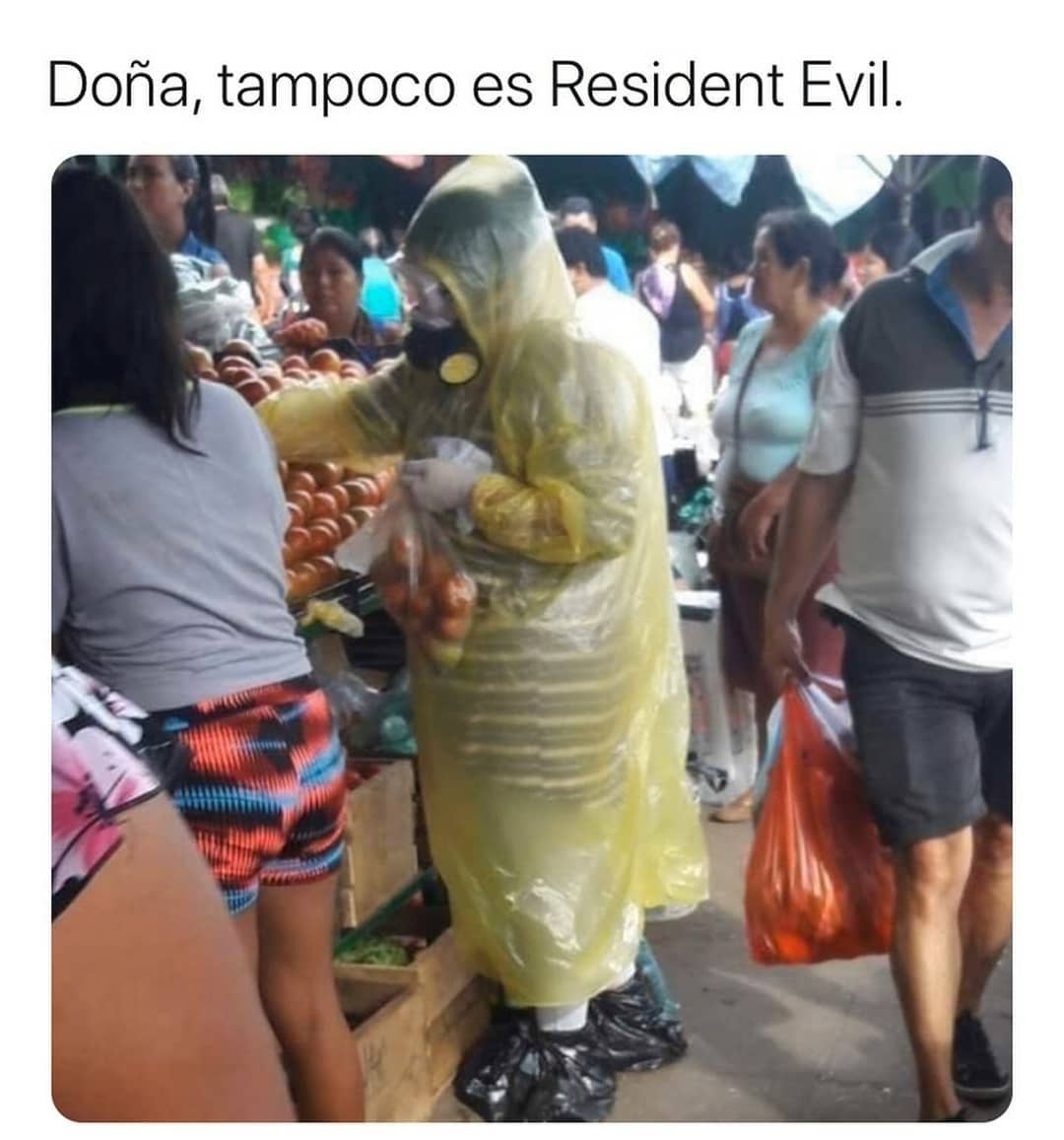 Doña, tampoco es Resident Evil...