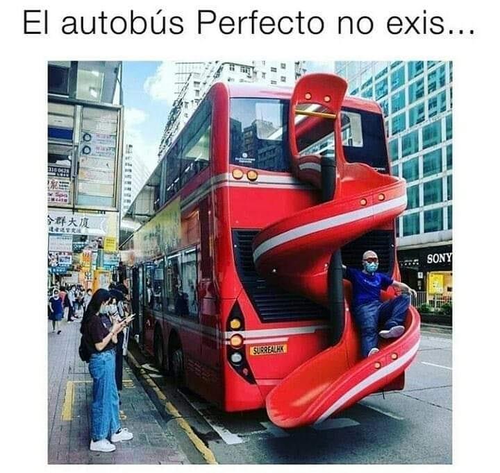 El autobús perfecto no exis...