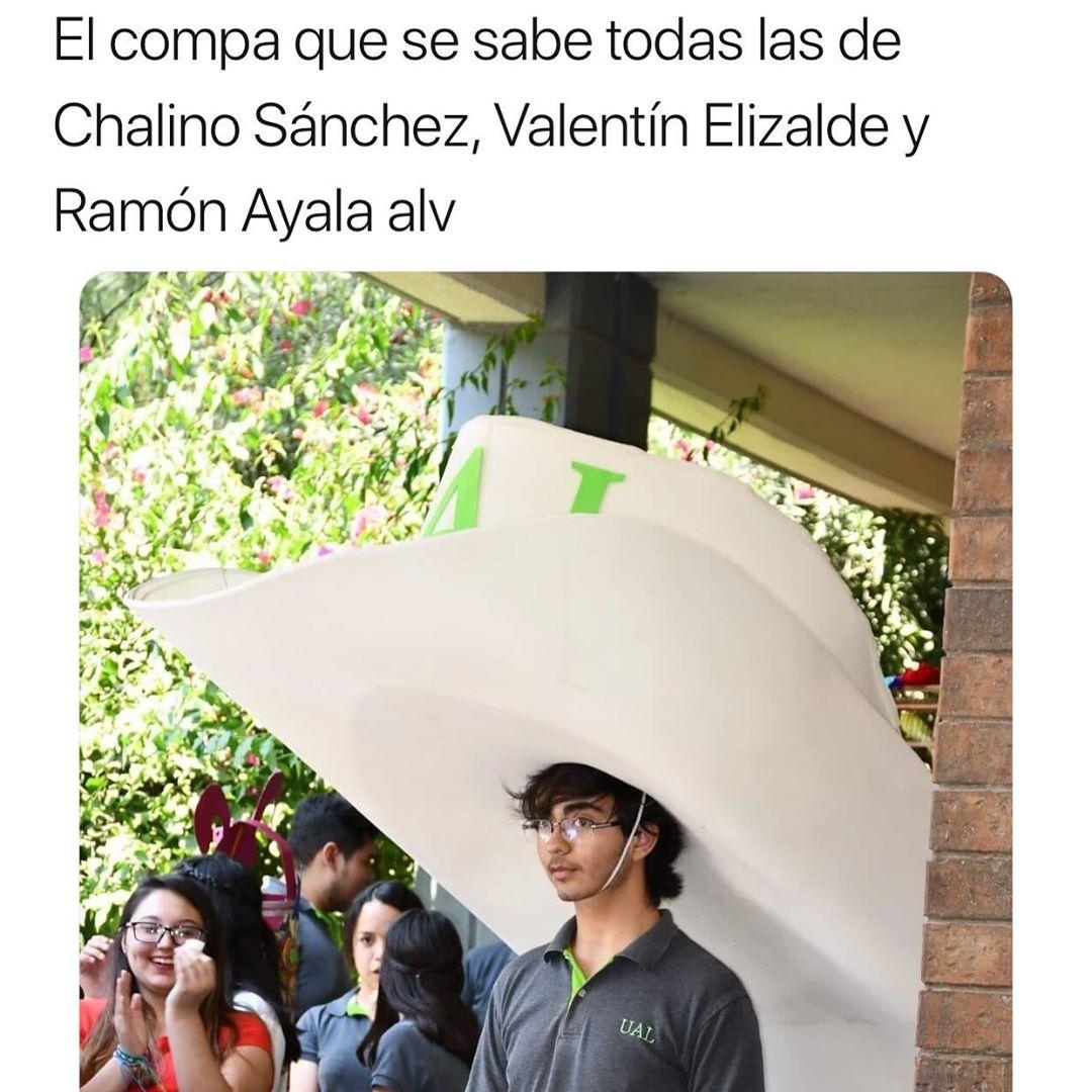 El compa que se sabe todas las de Chalino Sánchez, Valentín Elizalde y Ramón Ayala alv.