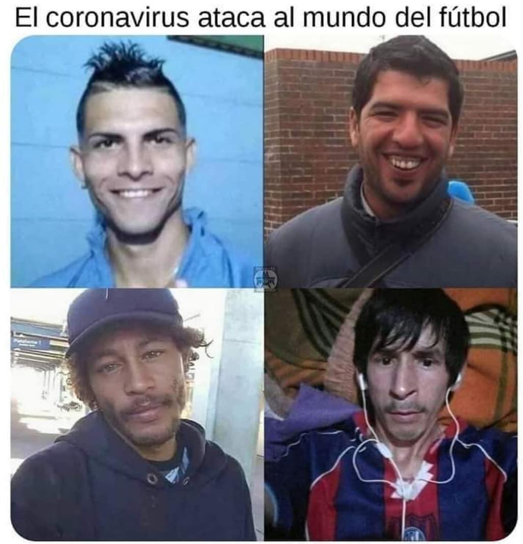El coronavirus ataca al mundo del fútbol.