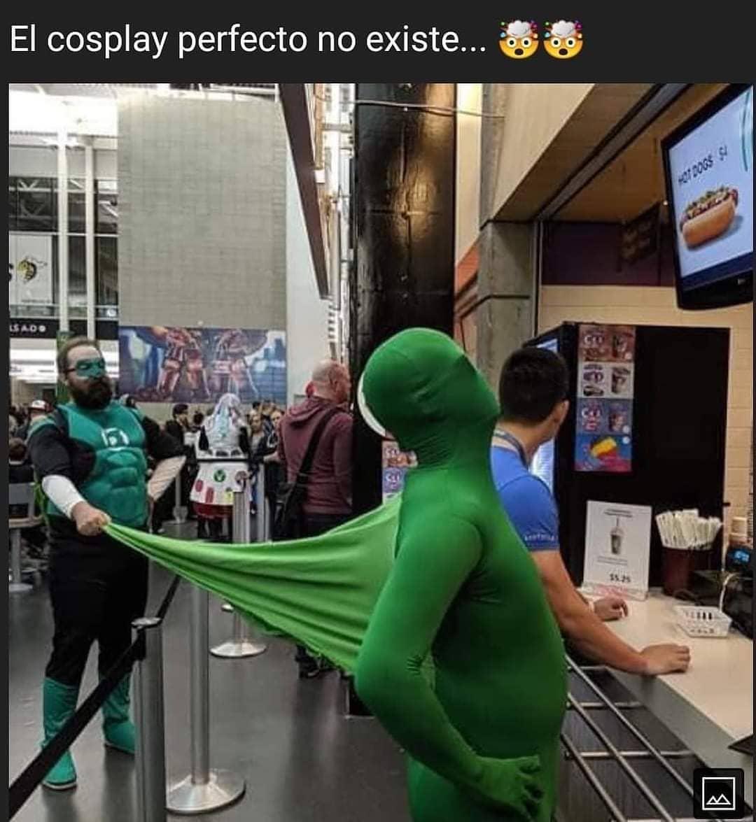 El cosplay perfecto no existe...