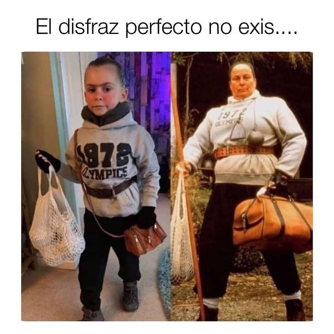 El disfraz perfecto no exis...