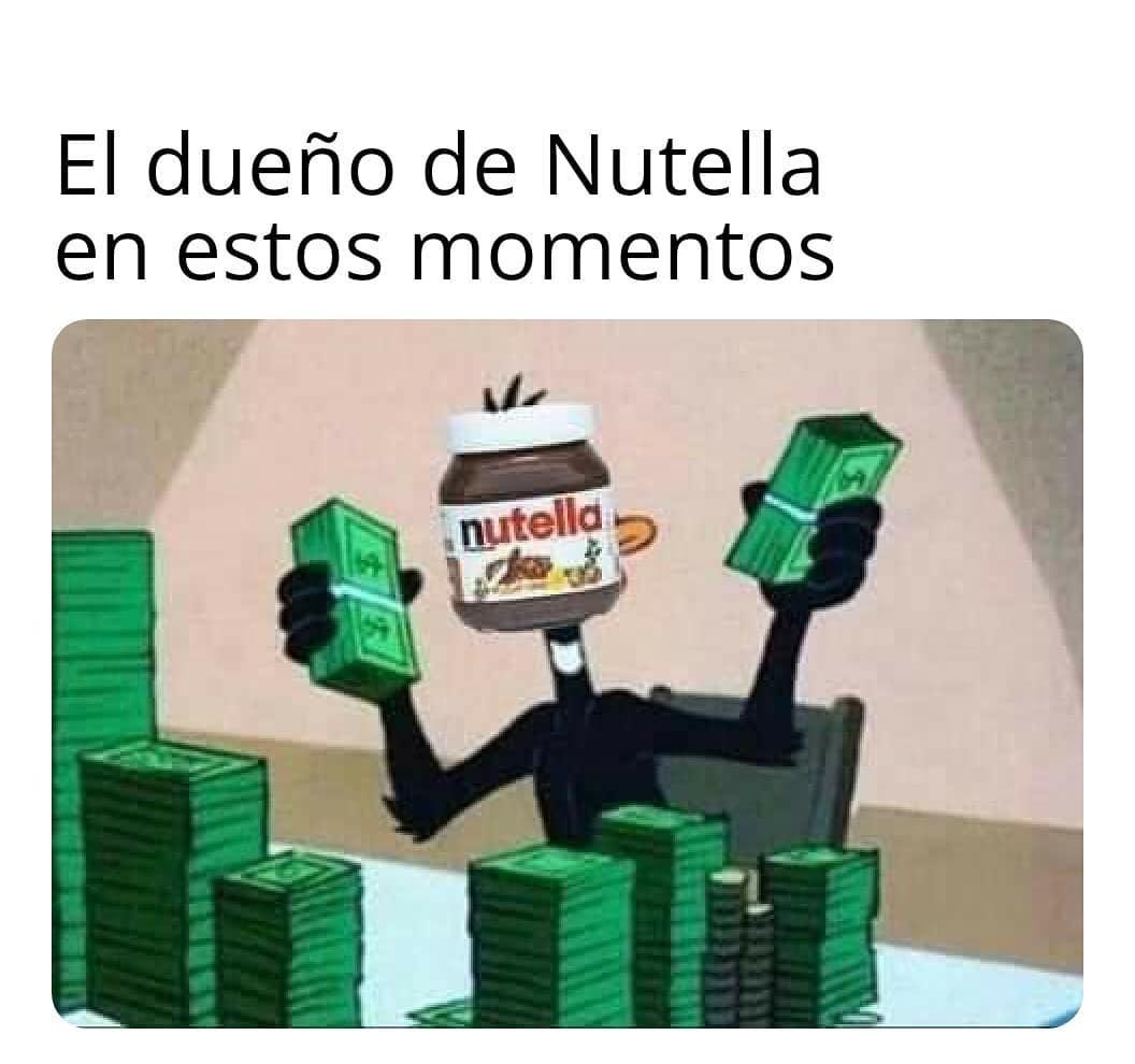 El dueño de Nutella en estos momentos.