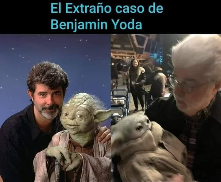 El extraño caso de Benjamin Yoda.