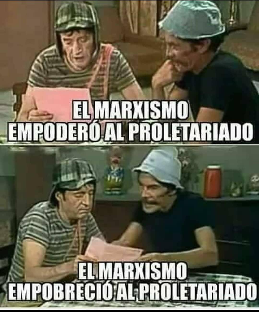 El marxismo empoderó al proletariado. El marxismo empobreció al proletariado.