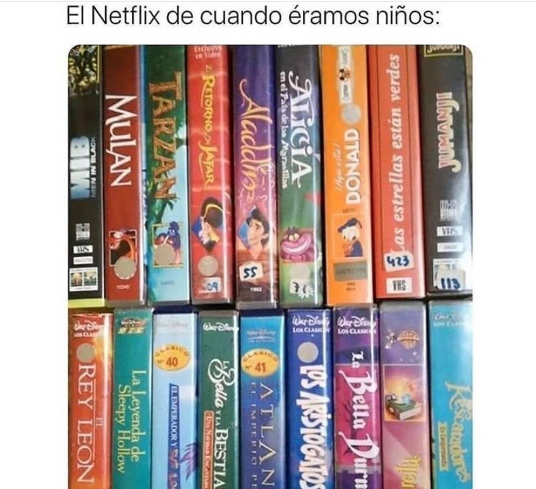 El Netflix de cuando éramos niños:
