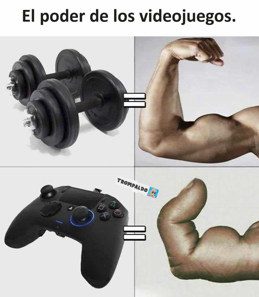 El poder de los videojuegos.