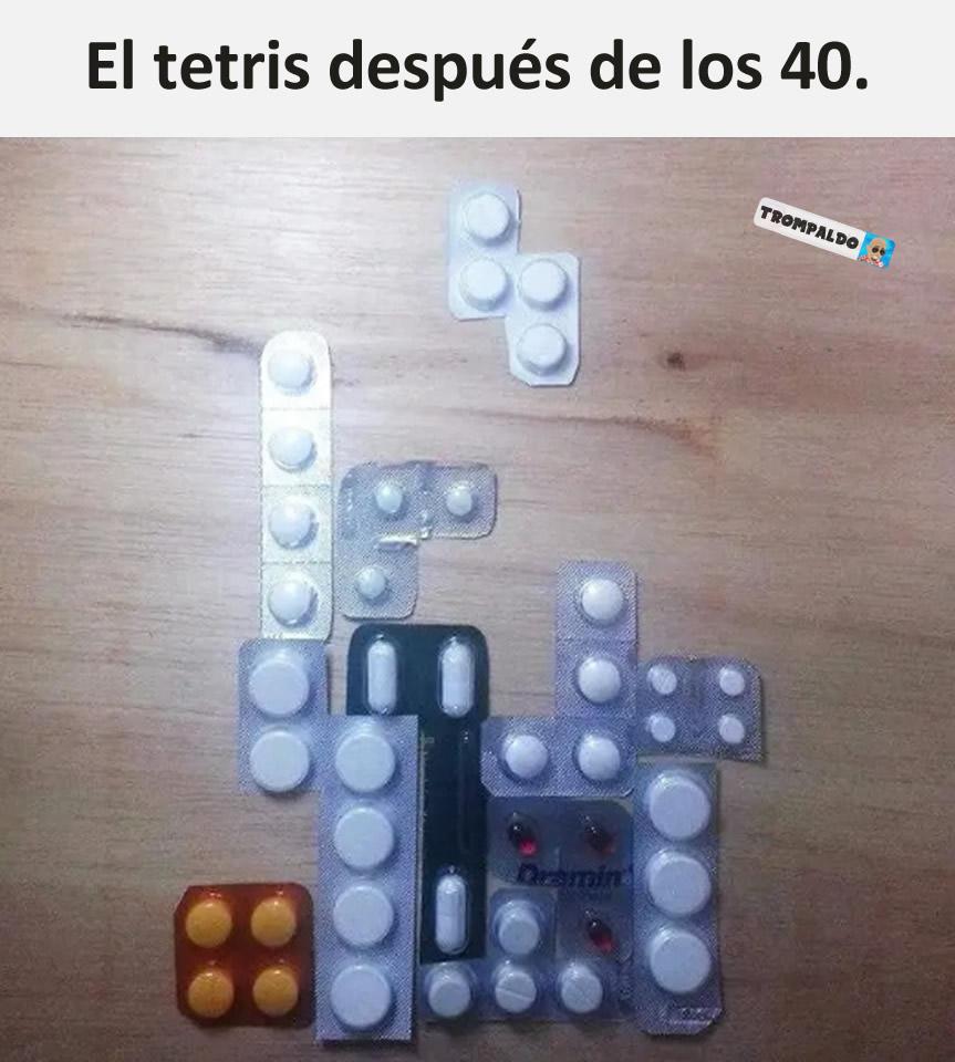 El tetris después de los 40.