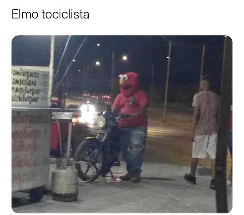 Elmo tociclista.