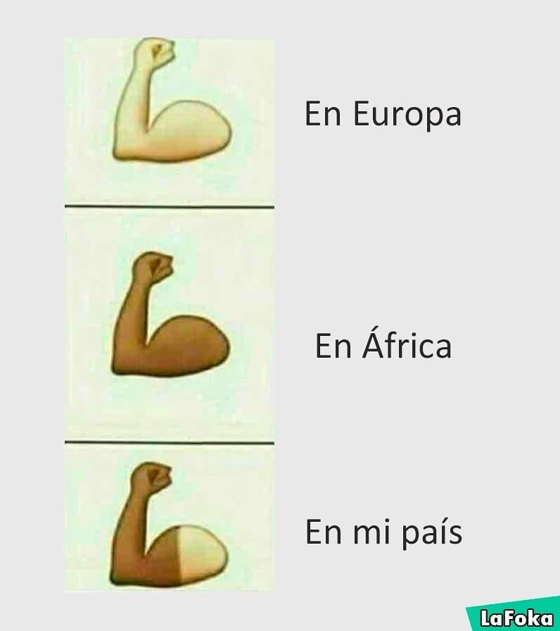 En Europa. En África. En mi país.