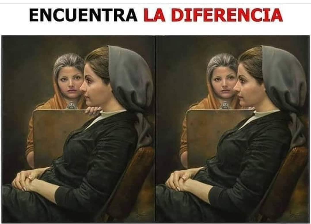 Encuentra la diferencia.
