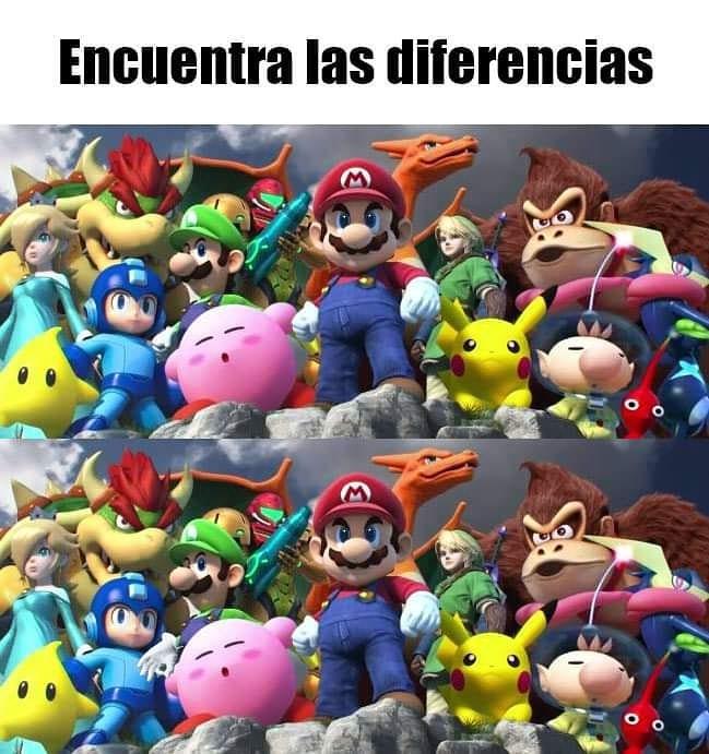 Encuentra las diferencias.